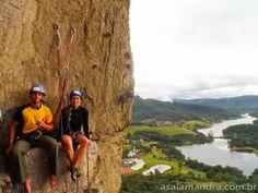 Um setor que se destaca nesse tipo de escalada aqui perto de Joinville (80km) é o Morro do Rio Bonito, localizado na região de Palmeiras, mu...