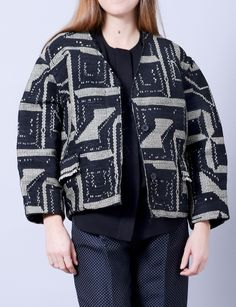 Isabel Marant flora raffia woven jacket at Bird : ShopBird.com