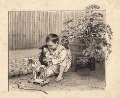 Pagina met informatie over de indische boekjes met illustraties van Cornelis Jetses. Antique Art, Vintage Antiques, Free Hand Drawing, Historical Pictures, Netherlands, Illustrators, Holland, How To Draw Hands, Couple Photos