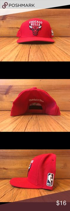Mitchell & Ness Chicago Bulls Red Snapback Red Chicago Bulls Mitchell and Ness SnapBack | Great Condition | Looks Relatively New Mitchell & Ness Other