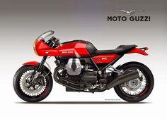 Il designer italiano interpreta la Moto Guzzi Bellagio trasformando il brutto anatroccolo custom in una classica e grintosa sportiva all'italiana. Una soluzione interessante e realizzabile senza interventi pesanti sulla moto. Senza dubbio piacerebbe parecchio ai guzzisti, chissà cosa ne pensano a Mandello…