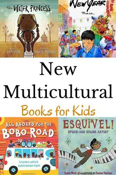 Some new multicultural books for children to add to your bookshelf. Multicultural Classroom, Multicultural Activities, Diversity Activities, Bilingual Classroom, Educational Activities, Esquivel, Preschool Books, Montessori Books, Children's Picture Books