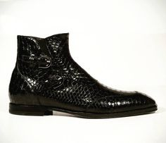 Newly released exotic snake skin Italian shoes by Cesare Paciotti now at dellamoda.com. How do you like these? #love #boots #menshoes #designershoes #italianfashion #dellamoda #mensfashion #luxurylife #style #fashion #shoes #mensstyle #gucci #mensboots #shoeporn