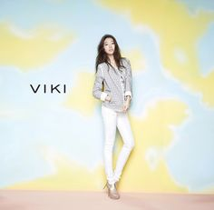 More Of Park Shin Hye For VIKI's Spring 2015 Ad Campaign   Couch Kimchi