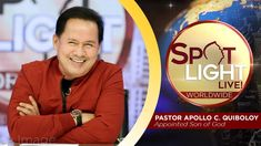 Watch another episode of Pastor Apollo C. Quiboloy's newest program, SPOTLIGHT. For your messages and queries, you can comment it down below so our Beloved P. Kingdom Of Heaven, Heaven On Earth, Disciple Me, Cute Dog Wallpaper, T Lights, New Program, Son Of God, Lessons Learned, Jerusalem