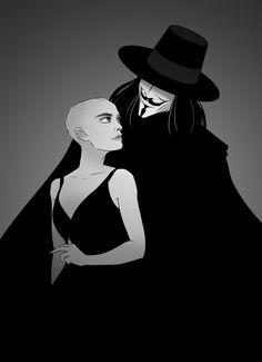 V For Vendetta fan art V Comme Vendetta, V Pour Vendetta, The Fifth Of November, Joker Art, Guy Fawkes, Fandoms, Minimalist Poster, Drawing Reference, Character Inspiration