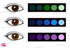 ombretti da utilizzare con gli occhi marroni