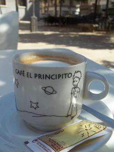 Un café con El Principito -- Le Petite Prince.