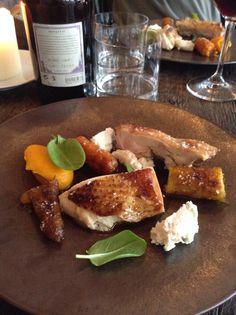 Main course at Septime restaurant Paris 11 near Ledru Rollin