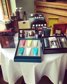 Our templespa display! Temple Spa, Country House Hotels, Spa Treatments, Christmas Is Coming, Hotel Spa, Massage Therapy, Wales, Relax, Indoor