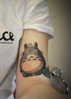 I want a Totoro tattoo so badly!