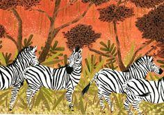 zebras by beccastadtlander on Etsy