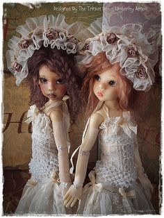 Kaye Wiggs doll - Design by Kim Arnold for the Trinket Box