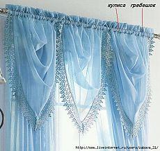 Sew beautiful fashionable curtains