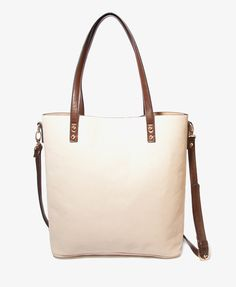 Leather-Lined Tote | FOREVER21