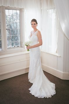 Whirlowbrook Hall November Wedding Bride Stacey