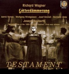 Wagner: Götterdämmerung - Bayreuth Festival 1955 conducted by Joseph Keilberth - the real first stereo Ring Cycle.
