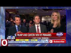 Donald Trump Wins New York! Hannity Live from Trump Tower 4/19/16 - YouTube