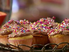 Sour Cream Cupcakes from Anne Burrell