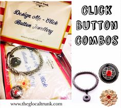 Wanna give your Mother a gift with a twist? Introducing Our Click Button Jewellery Combos  priced at ₹1100 only with 2 interchangeable #clickbuttons #shopnow www.theglocaltrunk.com #mothersday #mothersmay #onlineshopping #theglocaltrunk #onlinestore #instajewellery #instajewelrygroup #onlineshopper #onlineshopping #onlinesale