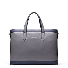 Men Genuine Leather 14'' Laptop Briefcase Document Handbag Garment Bag Medium  #teemzone #MessengerShoulderBag