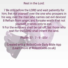 "#Bible verse found with ""Uplifting Psalms Daily"" for Android, iPhone and Kindle Fire! http://www.roboticode.co.uk"