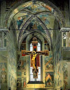 Legends of the True Cross -Piero Della Francesca (Arezzo, Italy)