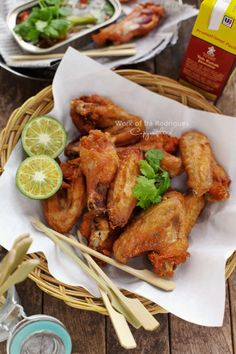 Ginger Chicken Wings