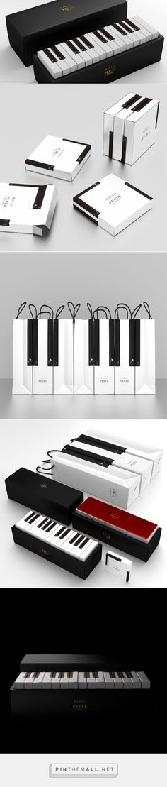 Gift boxes usually just line up products neatly, one after the other, in a uniform fashion. But the boxes for MARAIS, designed by Latona…