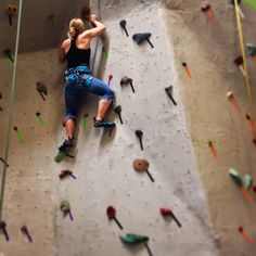 Climbing is something else I'm passionate about!