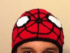 Gorro hombre araña