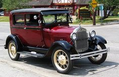 Classic Cars From The Great Gatsby - #4 1927 Ford Model A