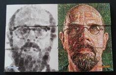 Chuck Close: face book, by Chuck Close