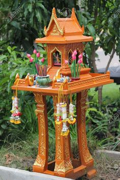 Fairy tale lotus pond garden miniature home decoration craft DIY doll house g WD