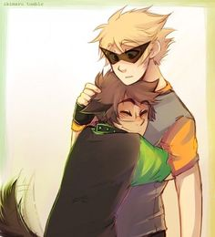 Dirk and Jake. Found on Google Images.