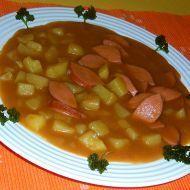 Fotografie receptu: Buřtguláš Chana Masala, Fruit Salad, Recipies, Ethnic Recipes, Czech Food, Recipes, Rezepte, Fruit Salads
