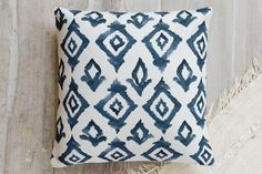 Moroccan Diamonds Pillow by Honeybunch Studio | Minted