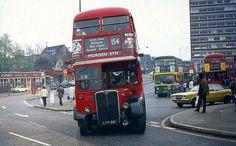 London Bus, Old London, Rt Bus, Blue Bus, Routemaster, Double Decker Bus, Bus Coach, London Transport, Old Street