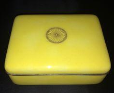 Japanese cloisonné box by Ando Jubei circa 1880.