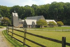 The stables at Hartwood Acres Park