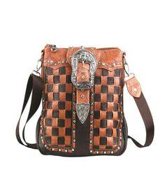 Montana West Concealed Handgun Collection Handbag-Coffee  #MontanaWest #MessengerCrossBody