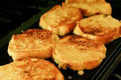 malted custard french toast