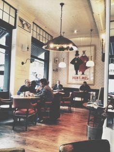 Café Meatpacking, Barcelona.