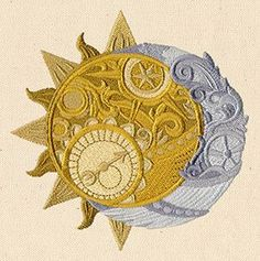 sun and moon clock - Google Search
