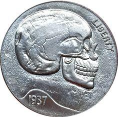 Hobo Nickel 1921-D USA Morgan Dollar Teasing Girl COIN Best Gift
