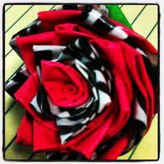 How to make a @Duck Brand flower: http://www.joann.com/duck-tape-flower/prod826409/ #joannlove