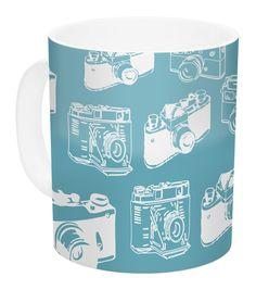 Camera by KESS Original 11 oz. Ceramic Coffee Mug