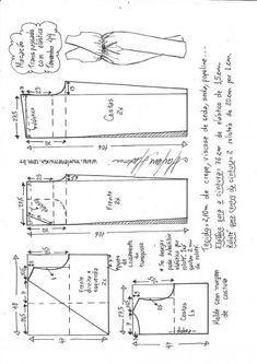 Elastīgās kombinezoni DIY - pelējums, griezums un šuve - Marlene Mukai Sewing Clothes Women, Sewing Pants, Diy Clothes, Dress Sewing Patterns, Clothing Patterns, Pattern Draping, Messy Room, Jumpsuit Pattern, Fashion Sewing