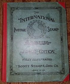 International Postage Stamp Album Junior Edition Scott Stamp and Coin Co. 1930