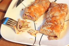 Spicy Ham and Cheese Crepes